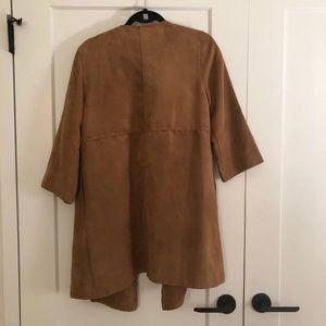 Jackets & Coats - Oversized quarter sleeve camel coat